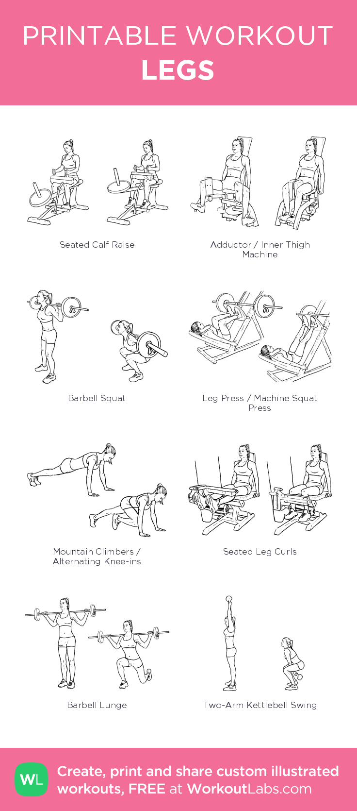 LEGS– My Custom Exercise Plan Created At WorkoutLabs.com
