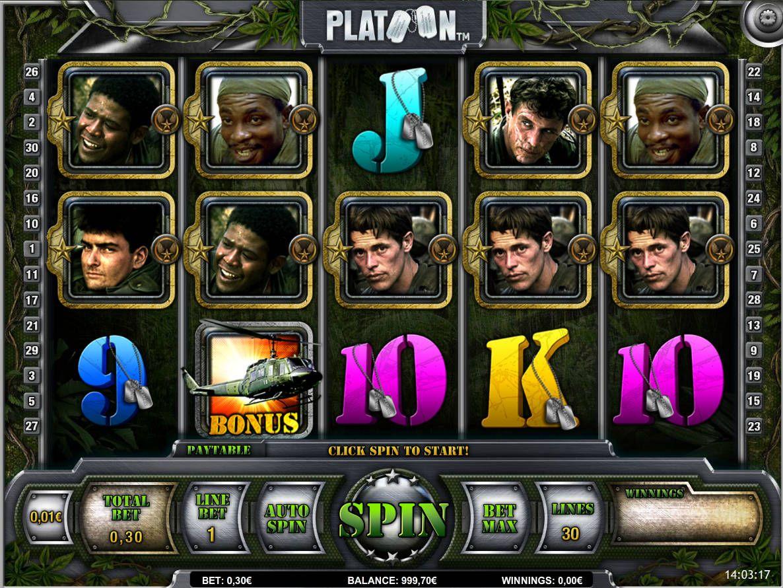 ᐈ Platoon ™ Spielautomat Kostenlos Online Casino Spiel