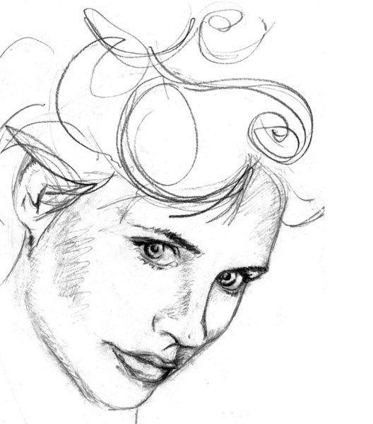 Dibujos A Lapiz Faciles Artisticos Y Paso A Paso Para Aprender A Dibujar Todo Imagenes Dibujos De Caras Como Dibujar Rostros Aprender A Dibujar