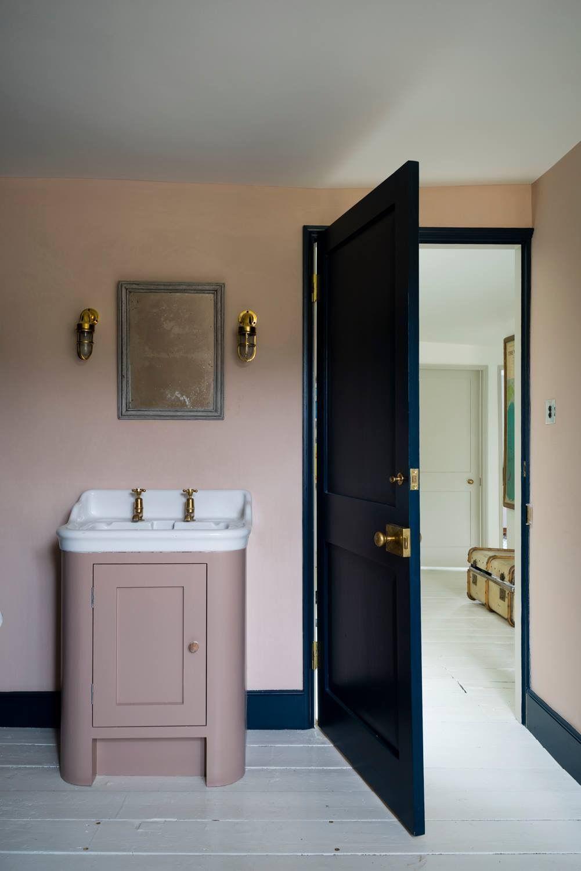 Farrow And Ball Bathroom Inspiration Pink Bathroom Bathroom Design