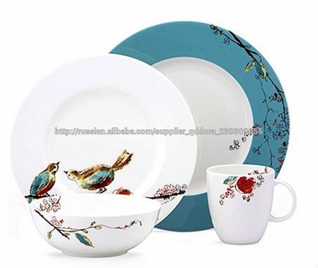 Photo of 6/9/18/20/30 pcs ceramic set of dishes, porcelain …