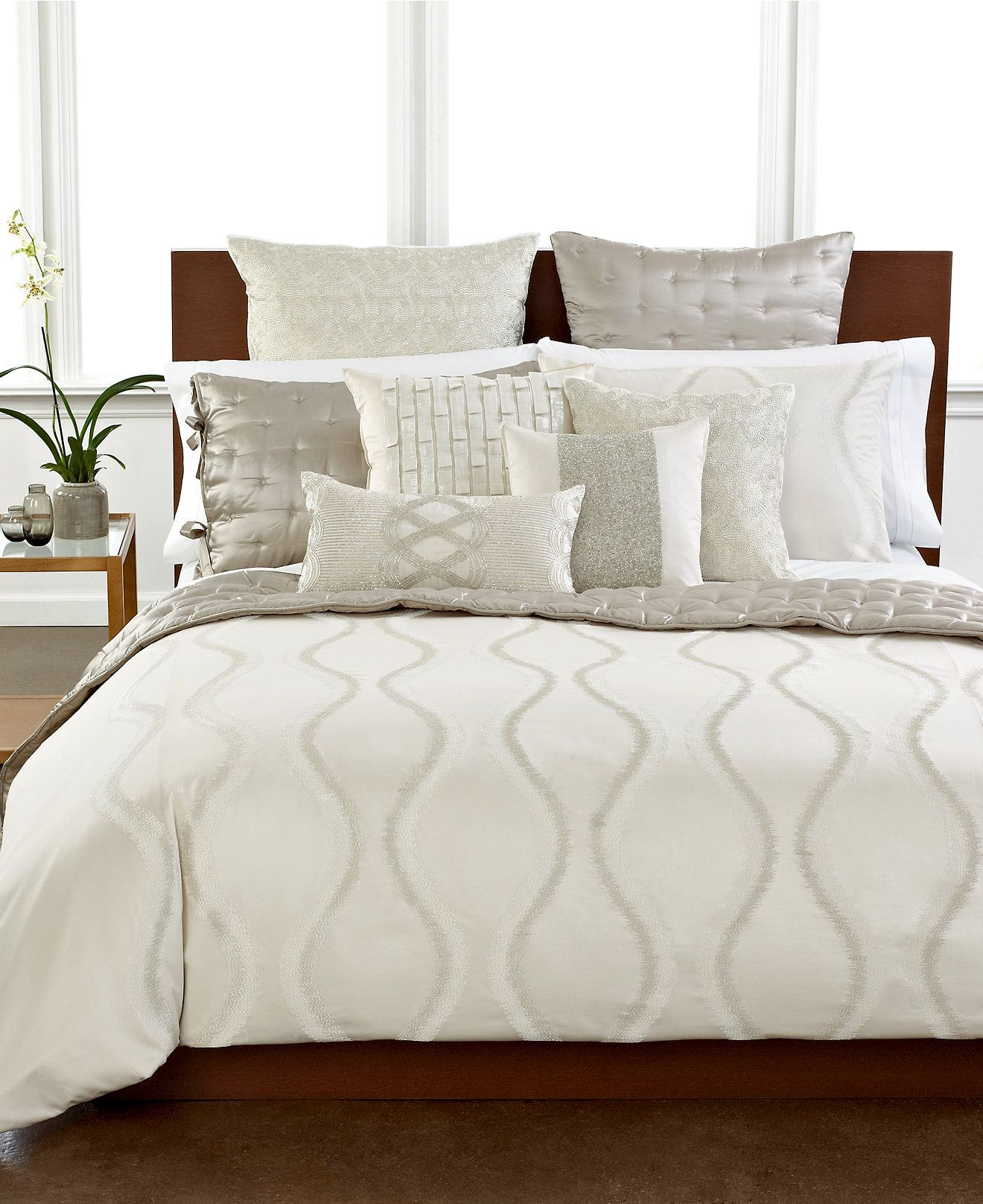 M Bedroom Hotel Collection Finest Luster Bedding Collection