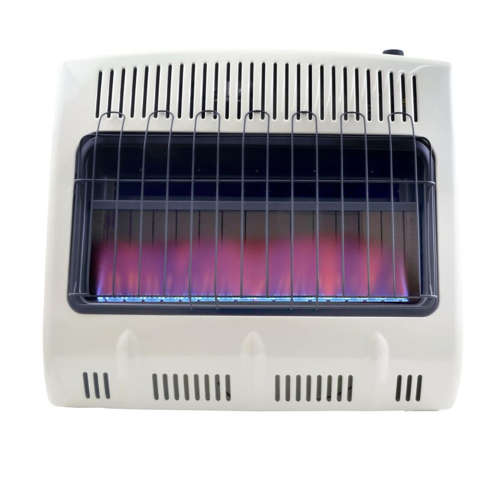 Mr Heater 30 000 Btu Vent Free Blue Flame Propane Whites