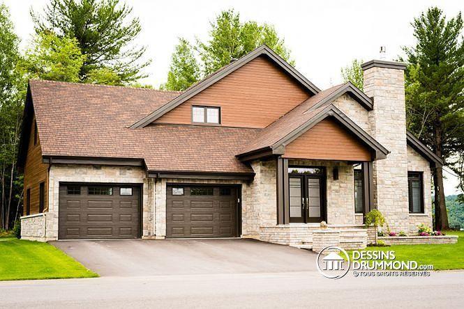 Grande suite des maîtres, plancher à aire ouverte, garage double - prix d une construction de maison