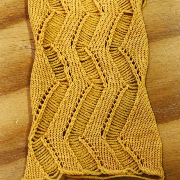 Traveling Stitches Needles Out Of Work Mostly Machine Knitting