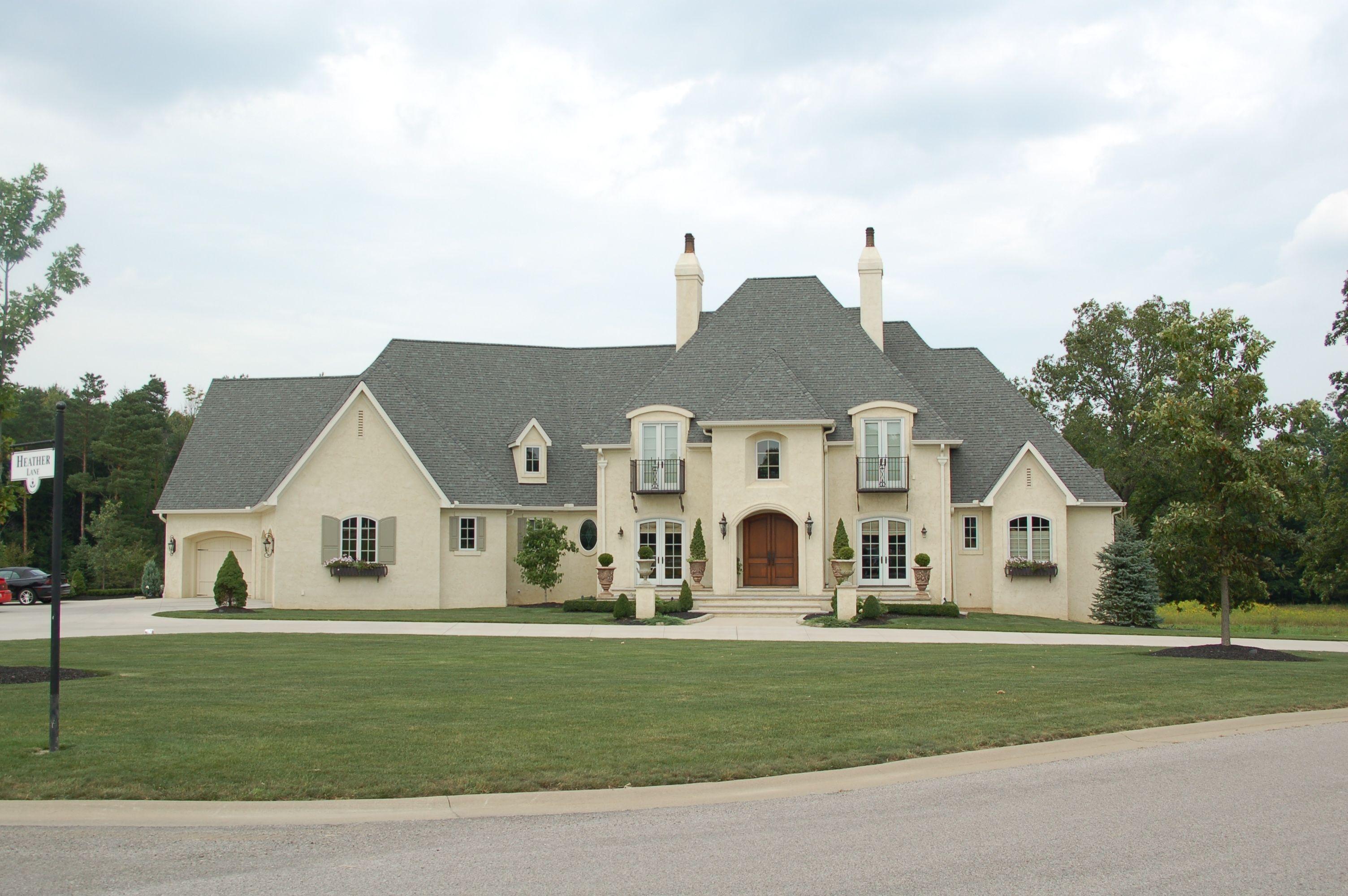 Stone and Stucco Homes Design