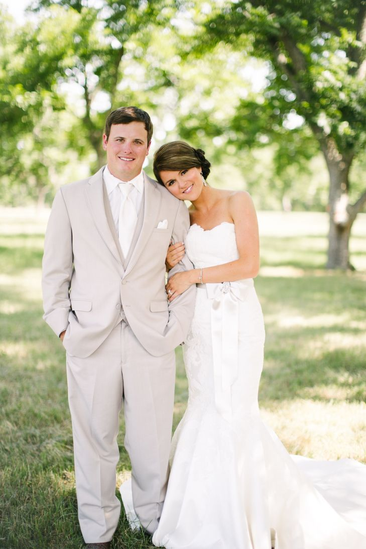 Outdoor summer wedding dresses  A June wedding in Matthew Christopher at Moon River Ranch  Outdoor