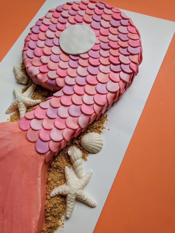 Easy Mermaid Cake For A Mermaid Birthday Party Cakes
