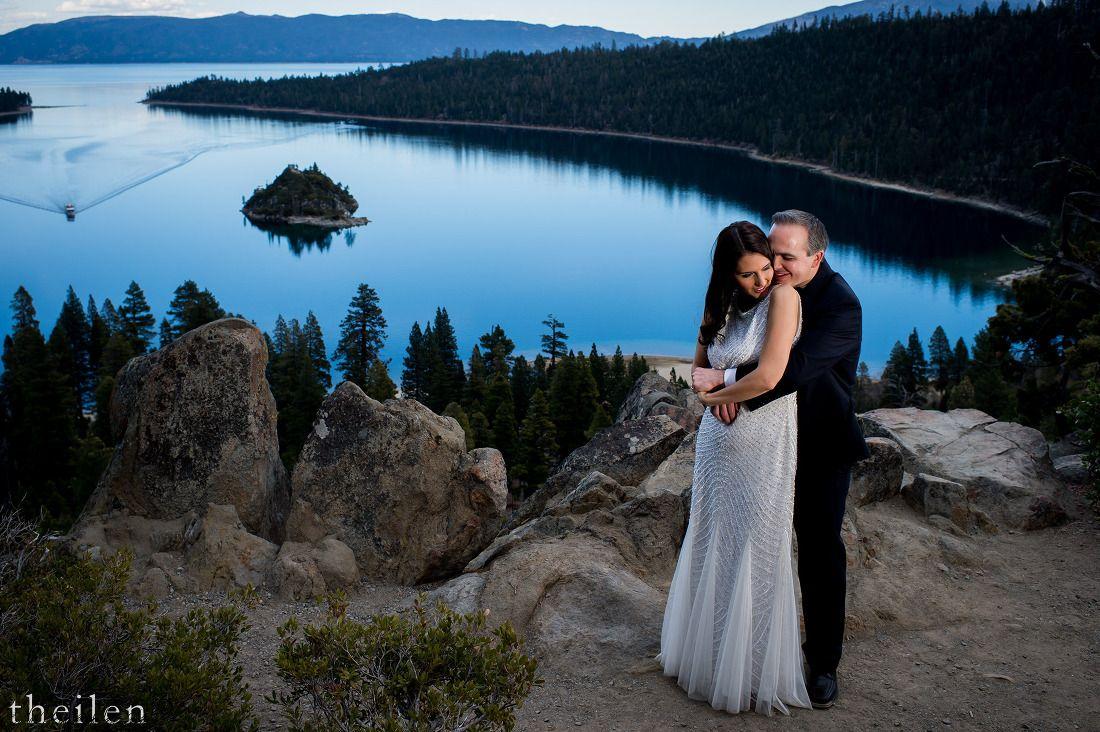 Andy behnaz emerald bay elopement lake tahoe