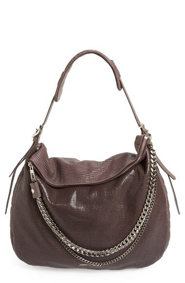 a53d62eb8b Jimmy Choo  Large Boho  Leather Hobo available at  Nordstrom ...