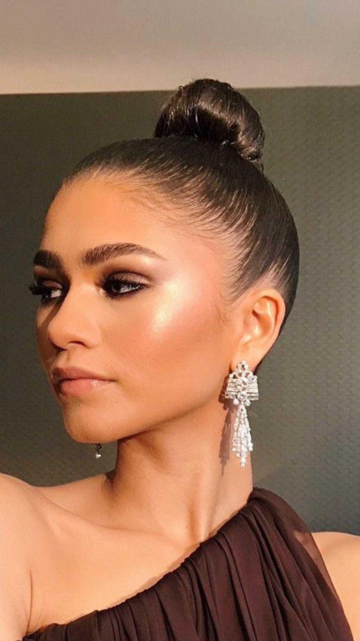 oscars 2018 | slicked hair | pinterest | zendaya, makeup and zendaya