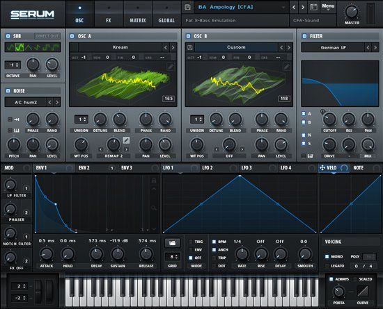 Serum By Xfer Records Rent To Own Splice Serum Synthesizer Synth