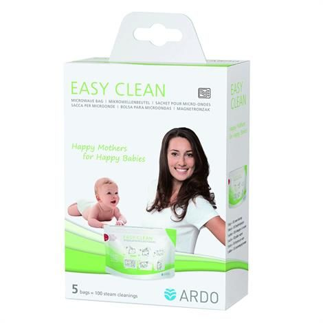 Ardo Easy Clean Microwave Steam Bag Cleans Tfeeding Accessories Quickly And Safely With Bags Give Baby The Best Possible