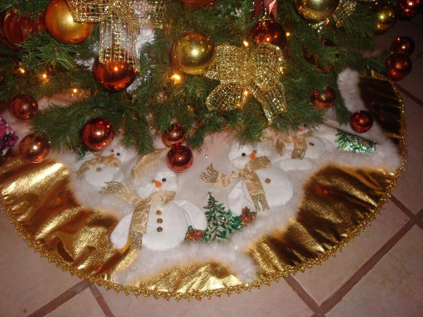 Pie de arbol navide o ganchillo 2014 christmas tree - Arboles de navidad elegantes ...