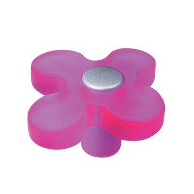 6 pomoli viola Ø 41 mm | pomelli belli e teneri | Viola