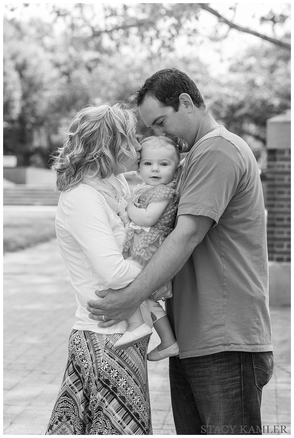 Lincoln, NE, Wesleyan Campus, Family Photos with Kids ...