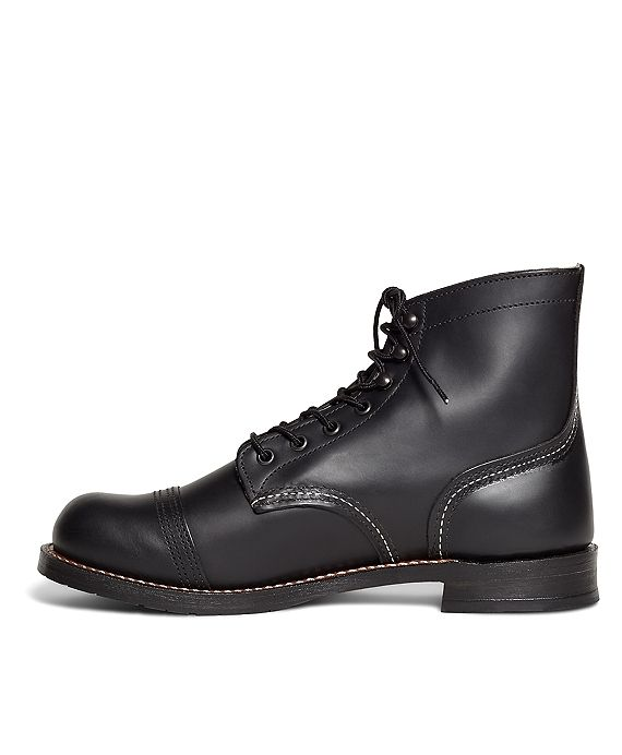 Red Wing for Brooks Brothers 9218 Premium Iron Ranger  BootsBlack
