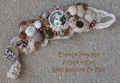 Hemp bracelet after decoration | Flickr - Photo Sharing!