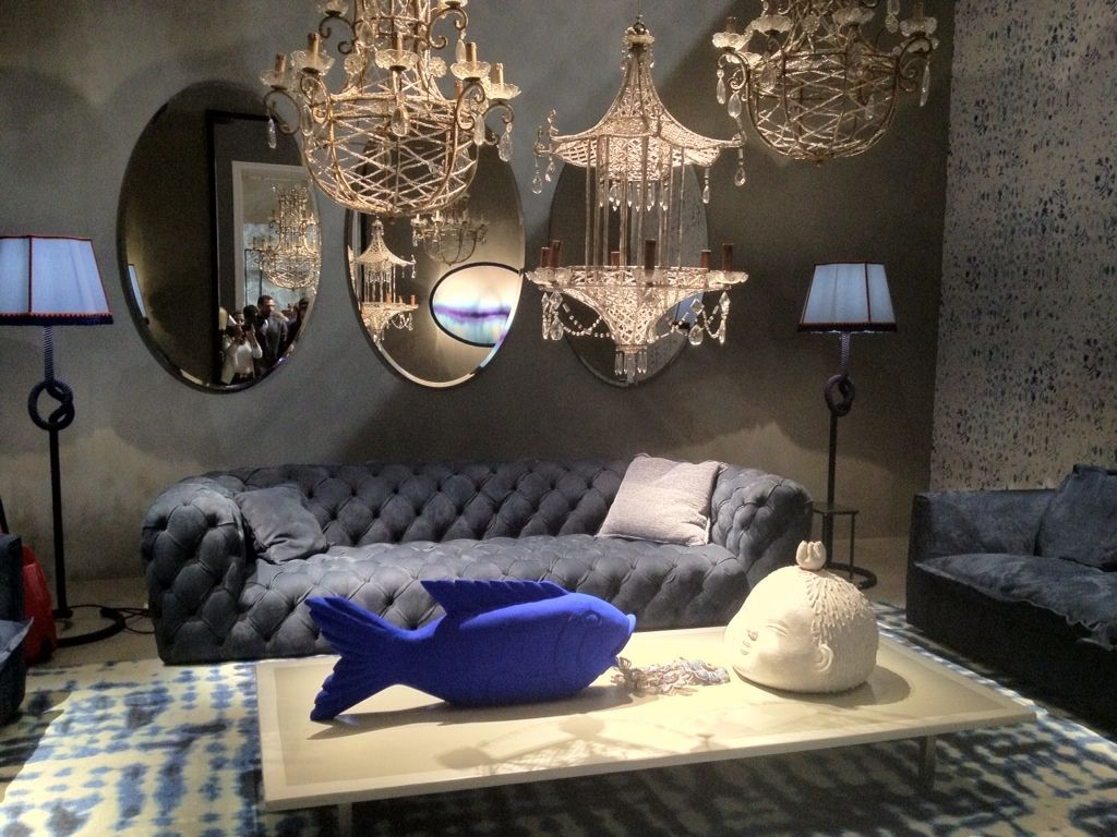 Baxter Chester Moon At ISaloni Milan 2012