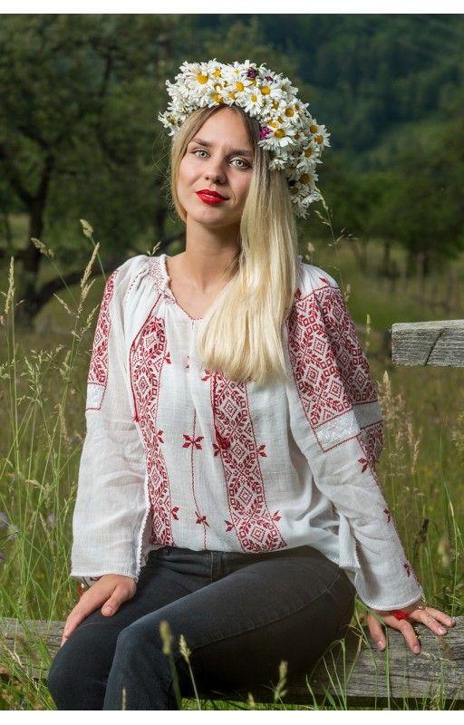 Rumänische Blusen - Kaufen bestickte Rumänische trachten