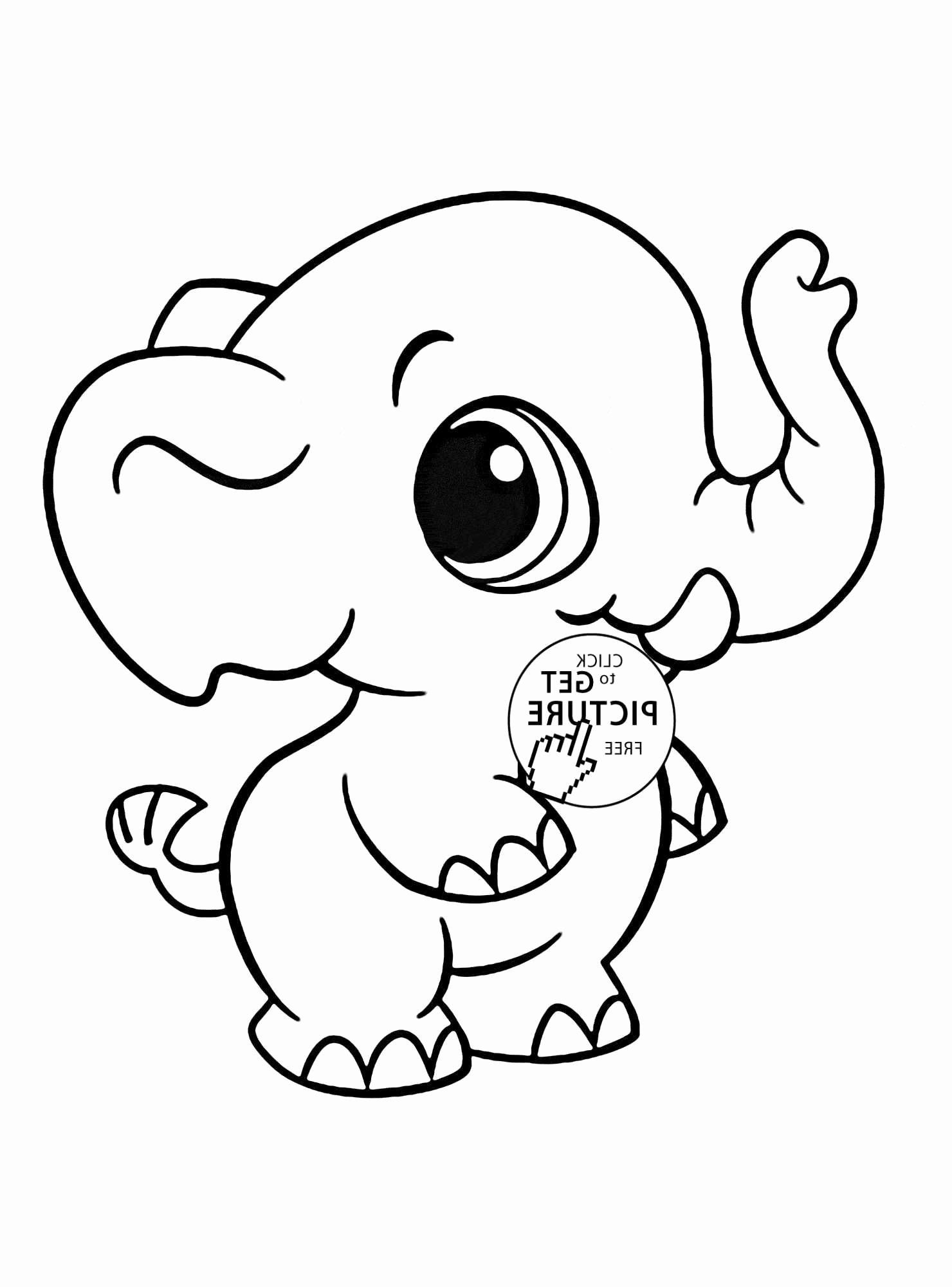 Cute Baby Animals Coloring Pages In