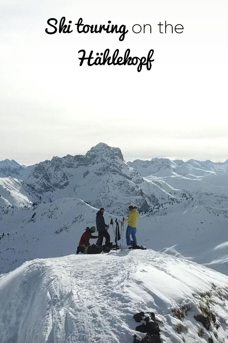 Ski Touring On The Hahlekopf In Kleinwalsertal