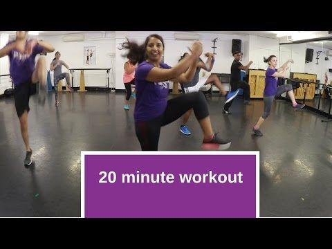 291 20 Minute Follow Along Bhangra Workout Youtube Workout Music Aerobics Workout Bhangra