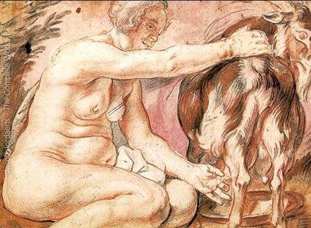O que é LEITE? Numa civilização pastoril como a dos hebreus no deserto, o leite, dom da natureza não fabricado pelo homem, é um alimento duma importância vital. Ficou sempre sendo um dos alimentos usuais de Israel (Jz 5.25; Pv 27.27). Ter leite em abundância era um sinal de riqueza: Jó 29.5-6 - Quando o Todo-Poderoso ainda estava comigo, e os meus filhos, em redor de mim; eu lavava os pés em leite, e da rocha me corriam ribeiros de azeite.