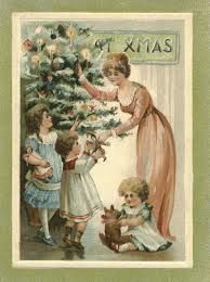 cartoes de natal vintage