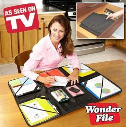 Wonder File Portable Desk Organizer