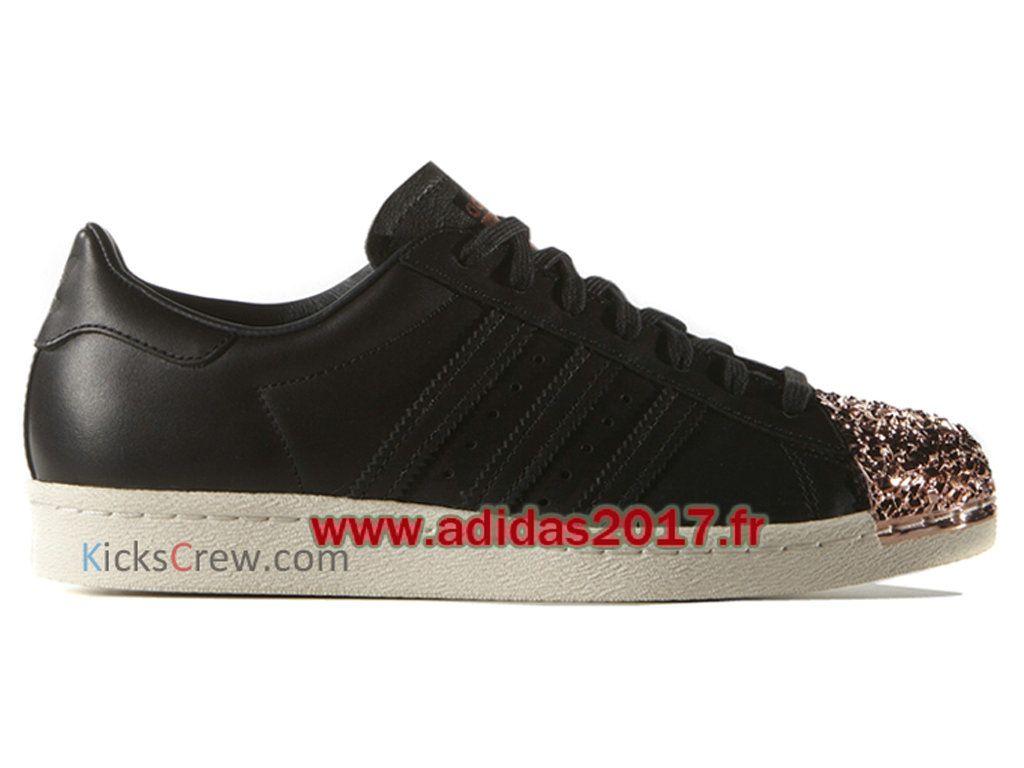 adidas superstar 80s metal noir pas cher