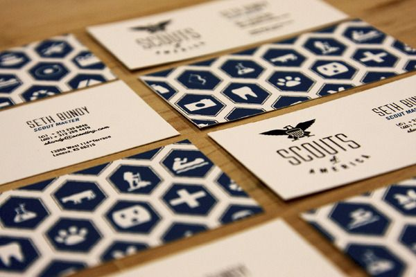Scouts of America by Chris Klee, via Behance