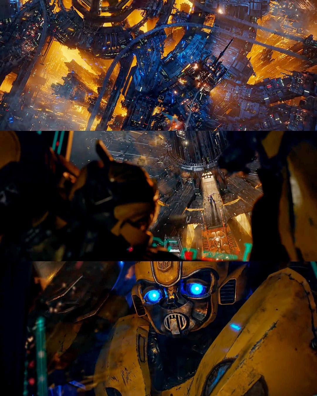 "Transformers on Instagram: ""Bumblebee x Cybertron 🐝 [ #Transformers"