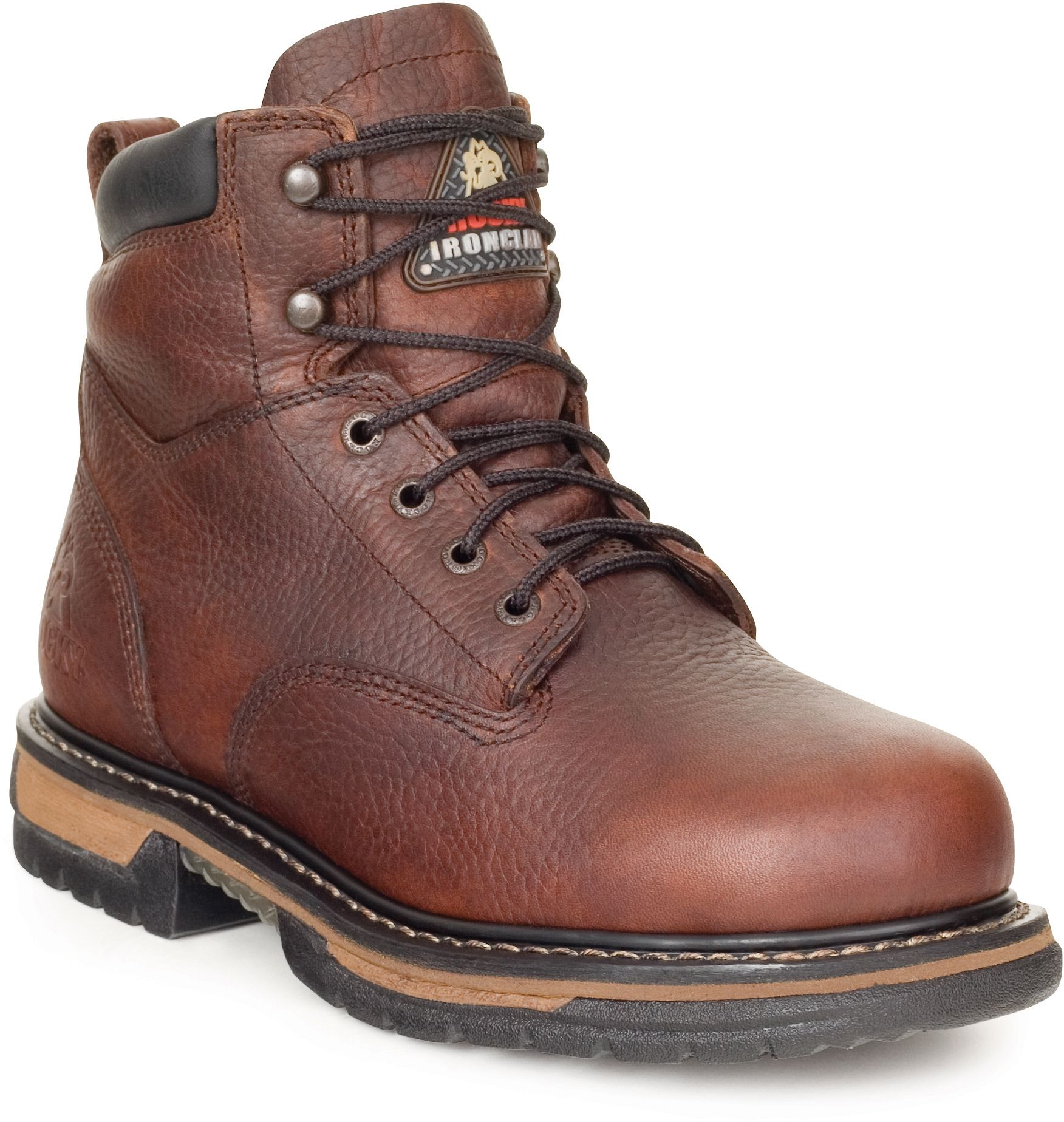 f39b509131a 5696 Men's Work WP IronClad Rocky Boots - Bridle Brown | Rocky Boots ...