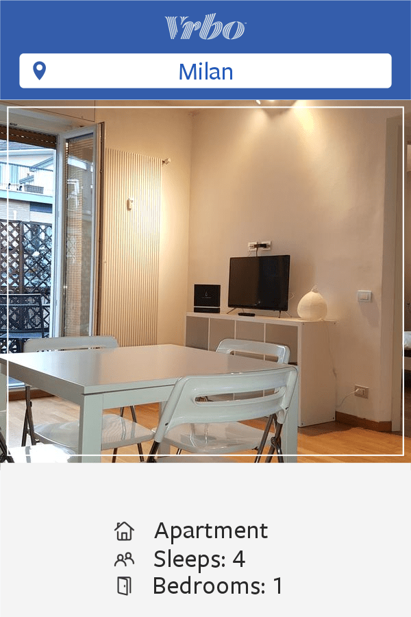 Vacation Apartment in Milan