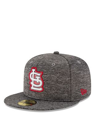 30a0f23f88d STL Cardinals New Era Mens Red Bevel Team 59FIFTY Fitted Hat
