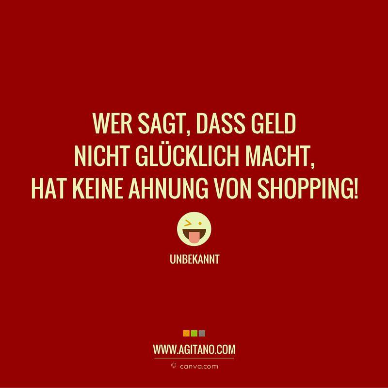 Lustige Shopping Sprüche
