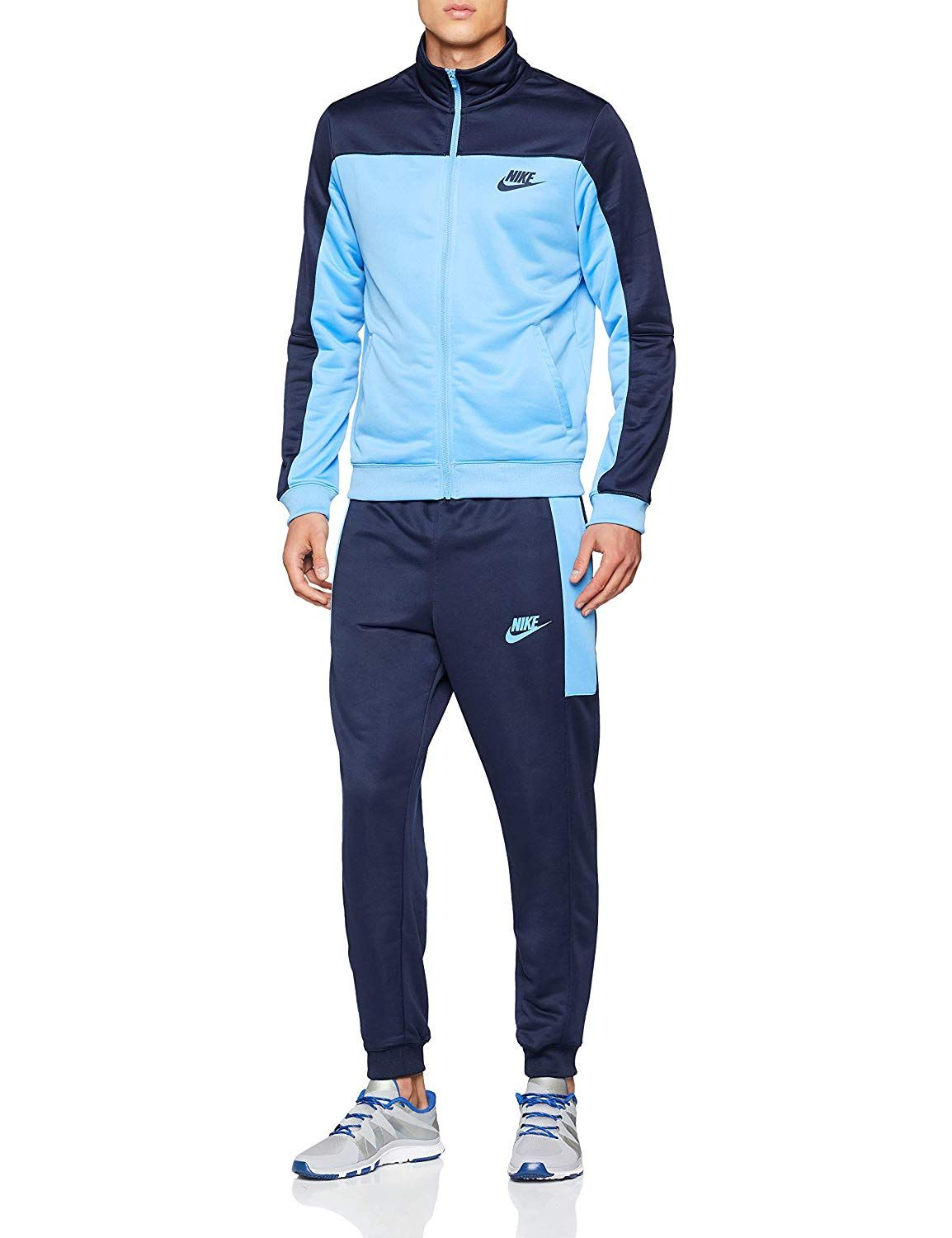 huge discount e1742 0822f Nike Herren M Nsw Trk Suit Pk Trainingsanzug, Grau ...
