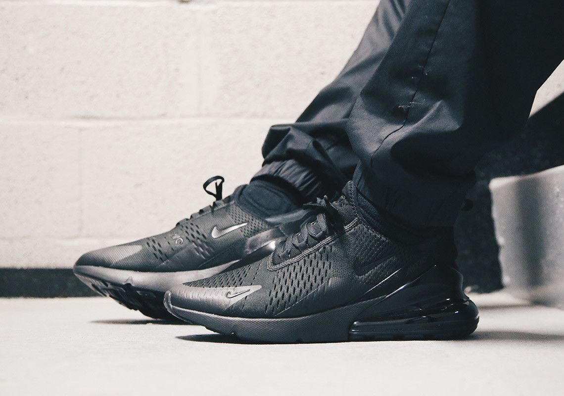 new product 0fe27 97126 Nike Air Max 270 Triple Black AH8050-005   SneakerNews.com