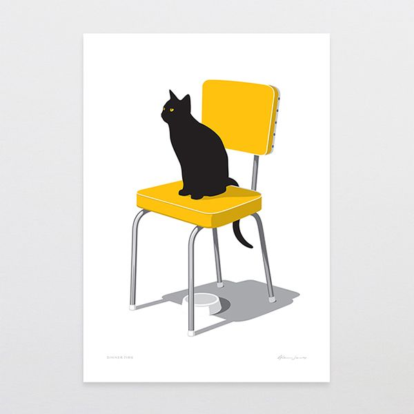 Glenn Jones Art - Print Collection Jun-Dec 2014 by Glenn Jones, via Behance