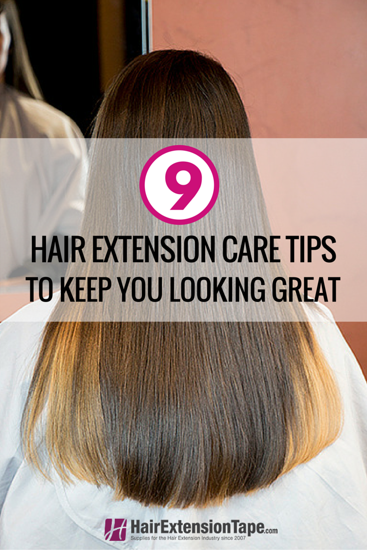 Hair Extension Care Tips And Tricks Pinterest Hair Extension