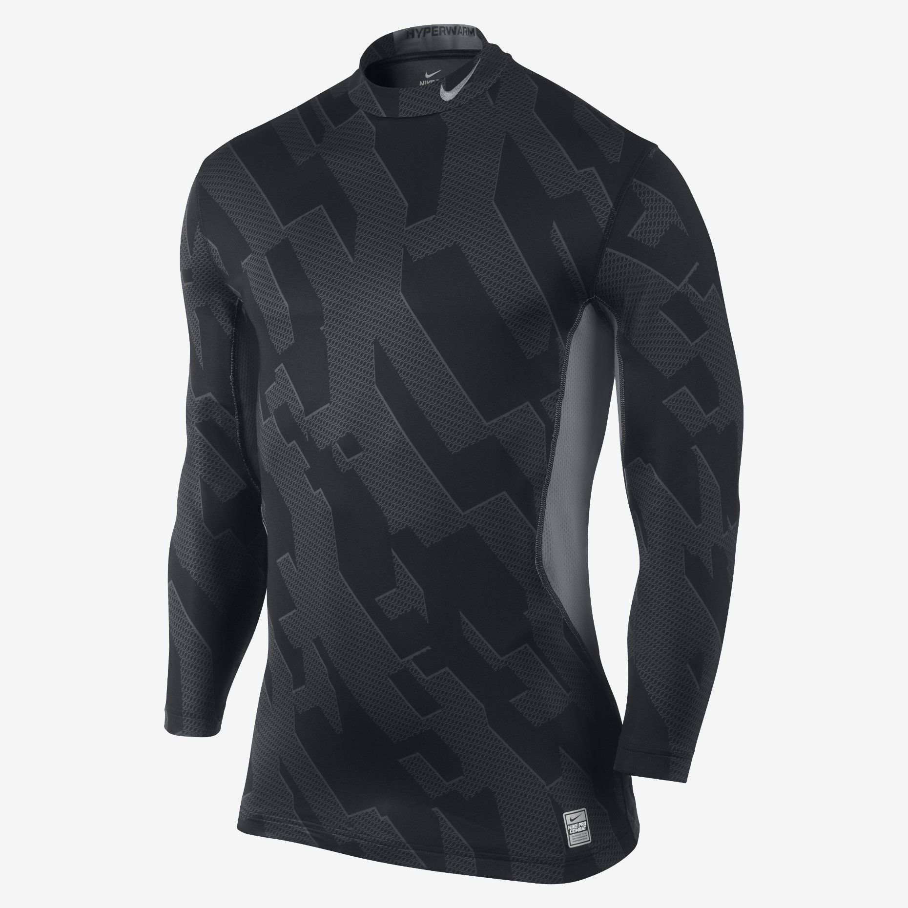 Nike Store Nike Pro Combat Hyperwarm Dri Fit Max Fitted Micro Chainmaille Men S Mock Nike Pro Combat Nike Men Nike Pros [ 1860 x 1860 Pixel ]