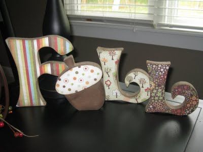 Decorative Wooden Letters Julia Sponsel Leslie Lippi Lippi Halper