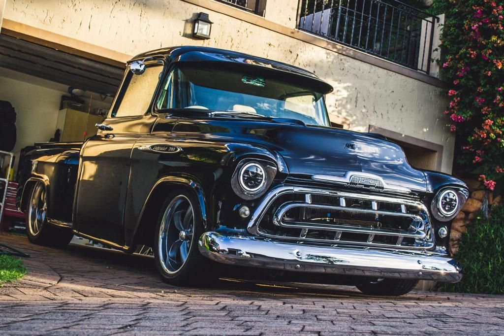 1957 Chevrolet Apache 3100 All steel body, fenders & front