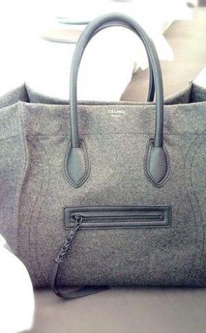 715cc088d271 grey flannel celine bag--image via Malibu Editorial. Find this Pin ...