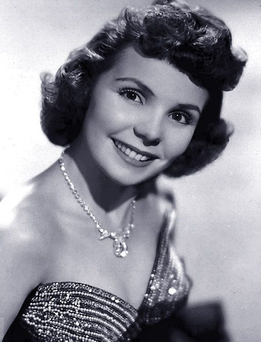 Teresa Brewer (1931 - 2007) Pop and jazz singer very popular in the