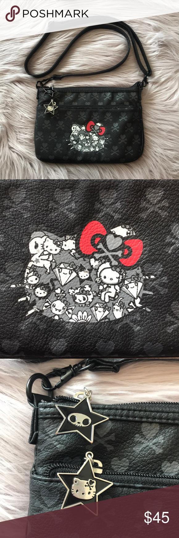 f8f3512d5fc3 Spotted while shopping on Poshmark  Tokidoki Hello Kitty Crossbody Bag  Handbag Purse!  poshmark