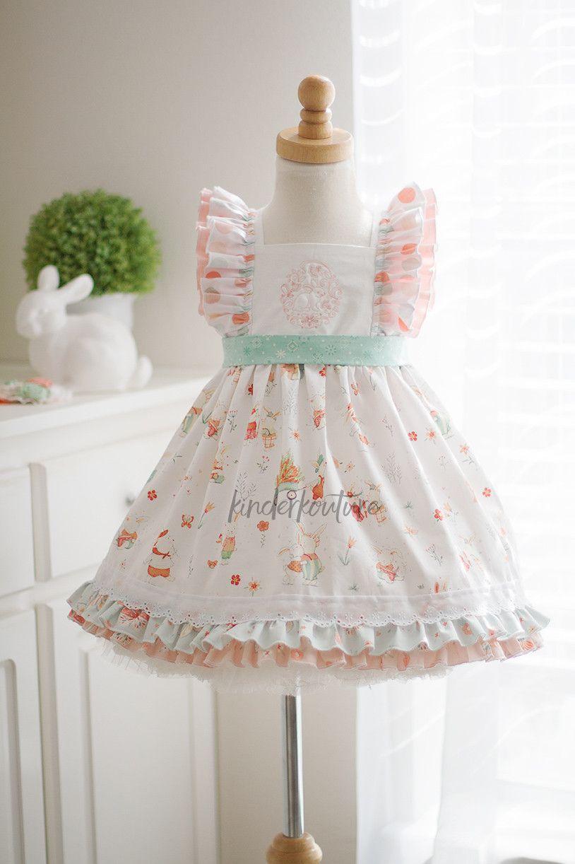Description Size Chart New 2017 Girls Easter Dress Lovely Shades