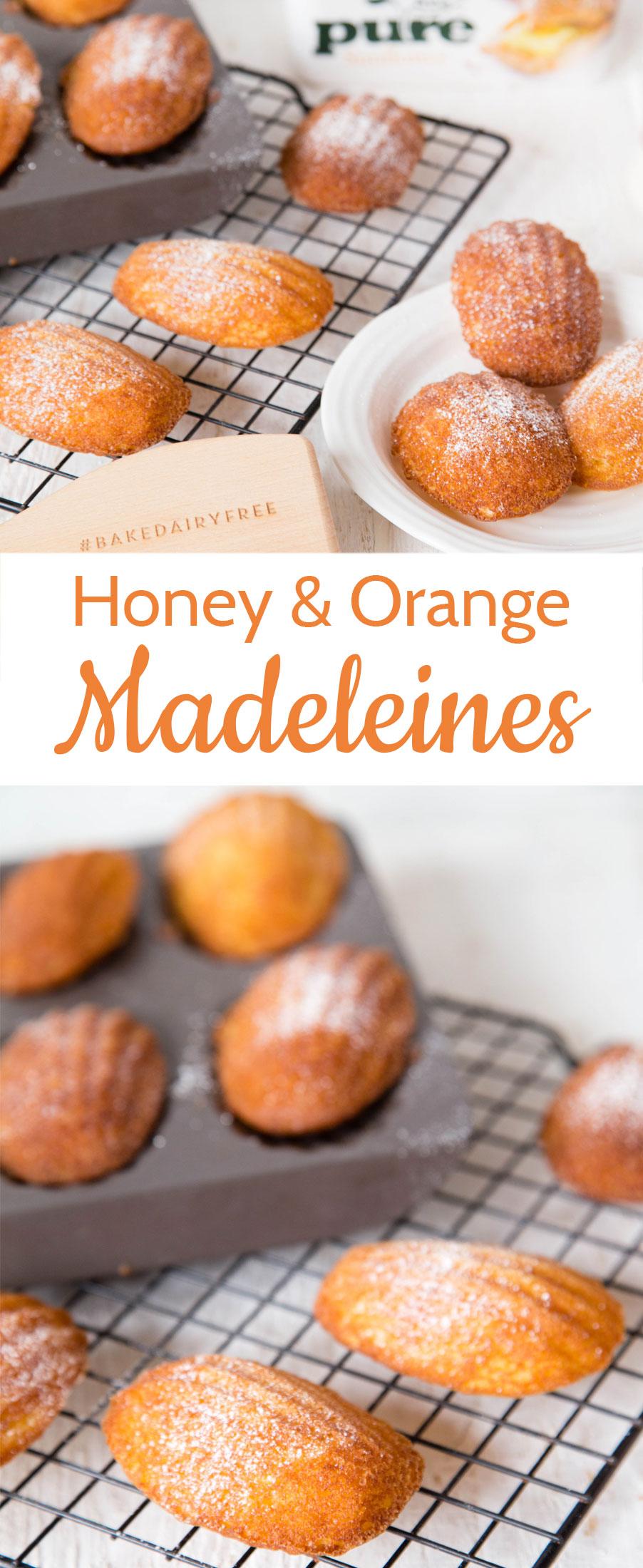 Honey Orange Madeleines - The Perfect Sweet Treat!