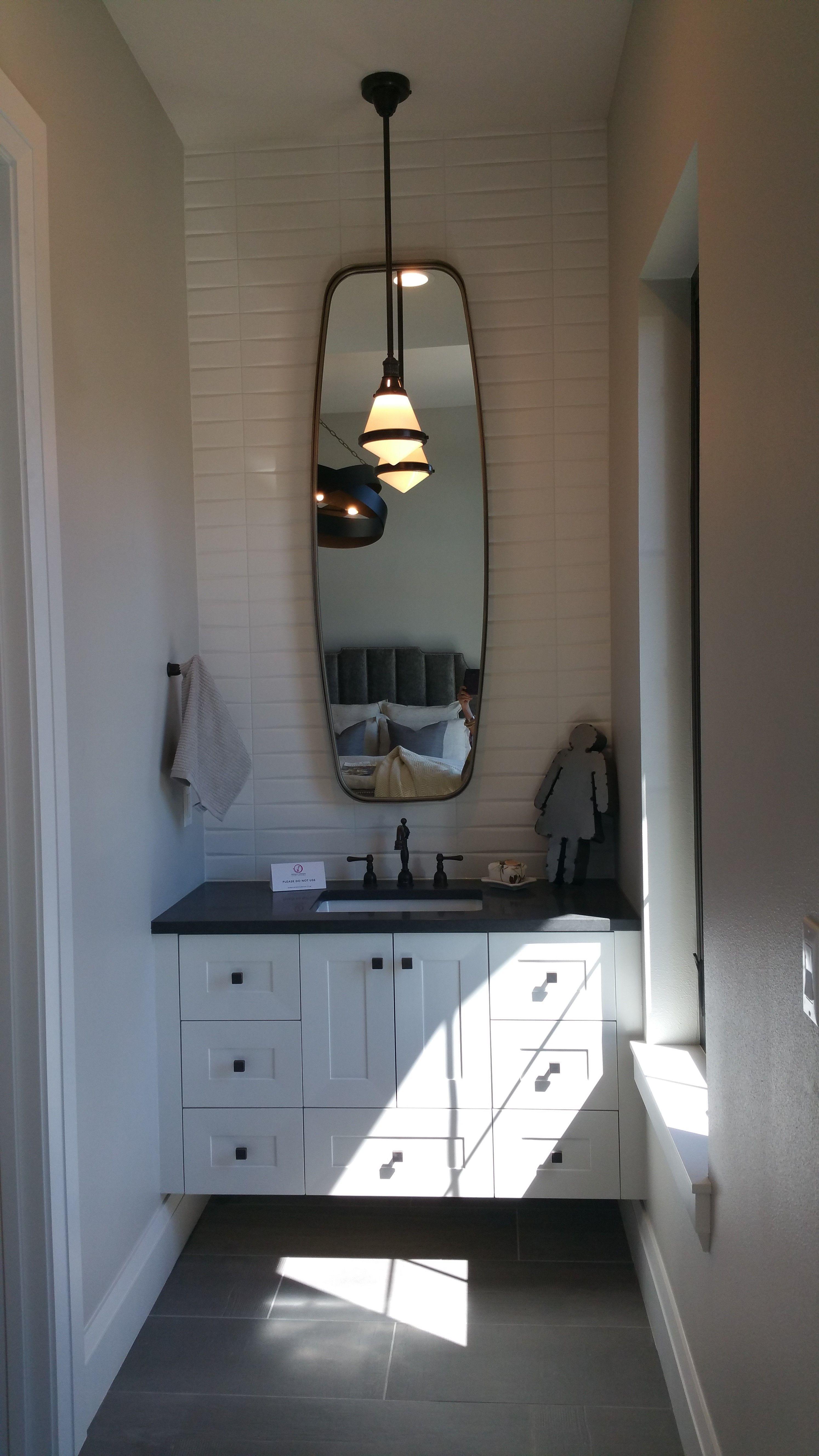 idea for mirror Master bath | Mirror, Bathroom lighting